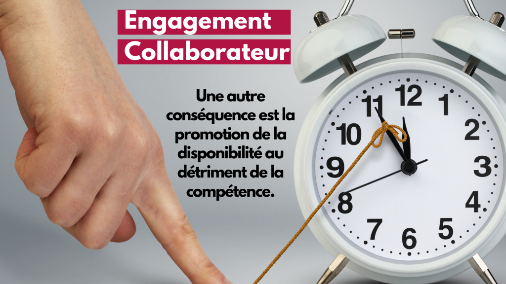 engagement collab disponibilité vs competence